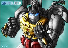 Me Grimlock, bad-ass by DavimusPrime