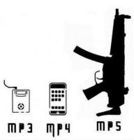 MP3,MP4 and MP5 by edge4923