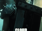 Final fantasy VII Remake! (GIF) by LumenArtist