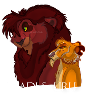 .Ahadi and Uru. by Wolf-Chalk