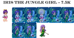 Iris the Jungle Girl - 7.5K by Cookiecat123456
