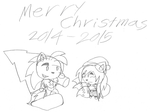 Merry Christmas from 2014 to 2015 by werewolf90x