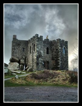 Carn Brea Castle 2 by Pjharps