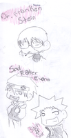 FFFF more Soul Eater Chibis by ArdeMobile