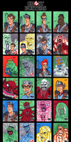 GhostBusters Sketch Cards - 01 by SeanRM