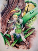 The Legend of Zelda - Minish Cap by Rhafiel