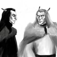 Sintar and Tarog by Lucius007