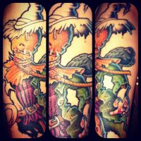 2nd sleeve first session by WillemXSM