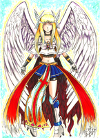 VALKIRIA Wings of Odin by Cristal-Zhaduir