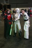 Legacy and KOTOR cosplay by Mace2006