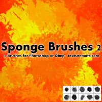 SpongeBrushes02 by AscendedArts