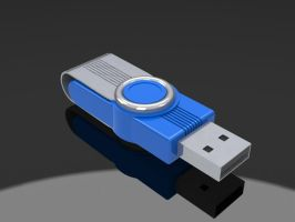pendrive 4 Gigas by potrox