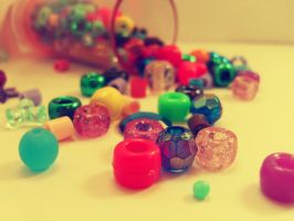 spilled beads by normaajean