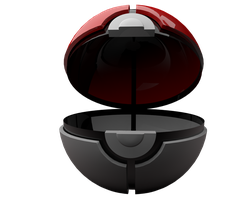 Pokeball Render by TH3M4G0