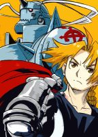 The Elric Brothers by Shinjigo