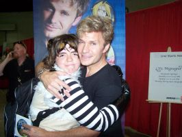 Me and Vic Mignogna by BabyRodent