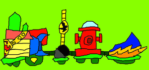 Christmas Trains 13 by conlimic000