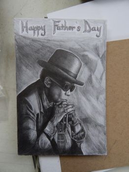 John Lee Hooker by Faerlyte