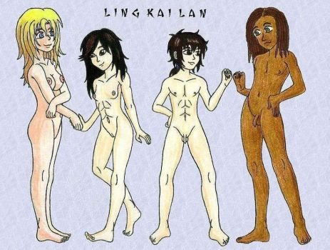LKL troupe naked color by lingkailan