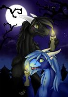 Together - Halloween double icons by Samantha-dragon