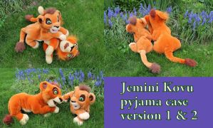 Jemini Kovu pj case version 1 and 2 by Laurel-Lion