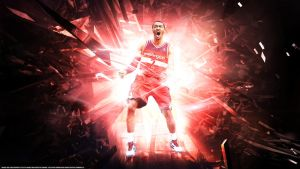 John Wall 'Comeback Kid' Wallpaper by rhurst