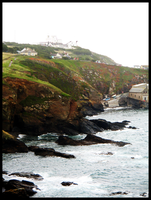Lizard Point Lighthouse by LadyElleth