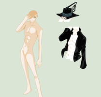 Soul Eater-Male Base by TFAfangirl14
