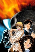 Star Wars:New Hope Manga 1 by joewight