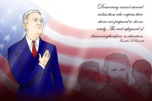 FDR: Democracy by nomers-sushi