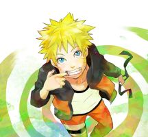 Just a smile can fix your day[Uzumaki Naruto]. by DanielaUzumaki
