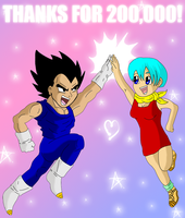 THANKS FOR 200000 HITS by Dbzbabe