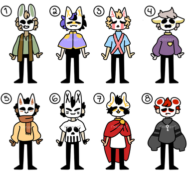(CLOSED) - OFF inspired adopts p12 by ReeAdopts