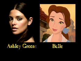 Belle - Ashley Greene by FalseDisposition