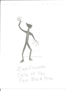 Zadrecestion, Child of the first Black Hole (Shado by ZombieGuyCXV