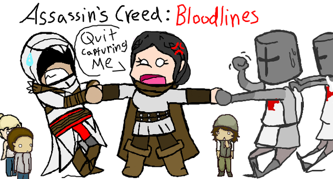 Tug O War in Bloodlines by Roselinath