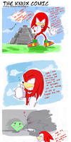 The Knux comic by missyuna