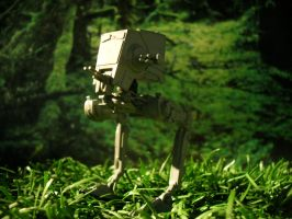 Star Wars AT-ST Walker Toy by manson26