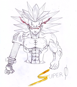 Dragon Ball O.C. cyborg by Mich-C