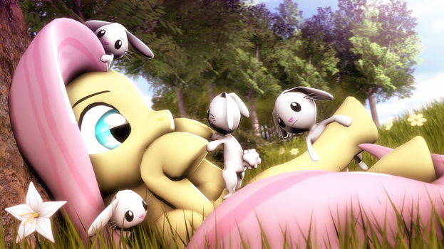 How many rabbits by SelestLight