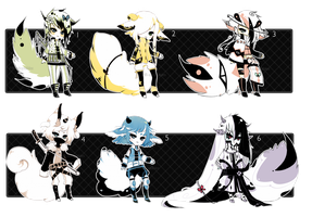 [CLOSED] ADOPT 34 - Enigma Species by Piffi-adoptables