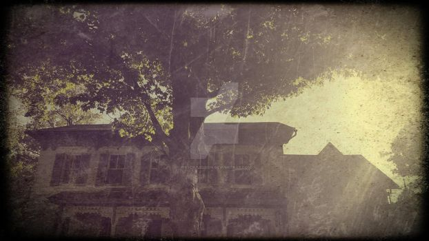 The House Across the Street by ravenaudron
