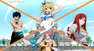 Wallpaper Fairy Tail by XanaSakura