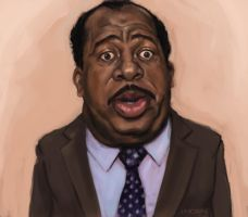 Stanley Hudson by jhorn79
