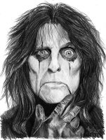Alice Cooper - Welcome 2 My Nightmare by Red-Szajn