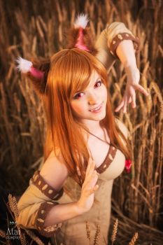 Horo (Holo) from Spice and Wolf cosplay by Atai