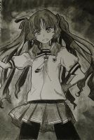 Charcoal Anime by thunderdogs