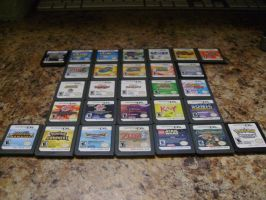 My DS games by PenelopeXdg