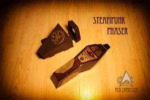 Steampunk Phaser 1 by flosvensson