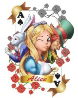 Alice + Rose by animator00